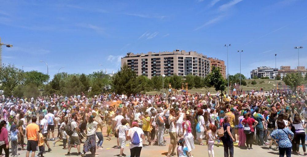 Las Fiestas del Ensanche se celebran en un barrio joven y dinámico