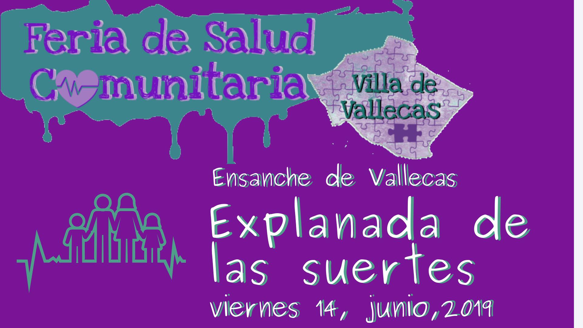 Feria de la Salud Comunitaria de Villa de Vallecas