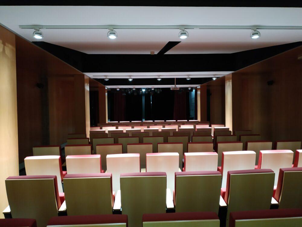 Sala del Teatro Municipal de Vallecas
