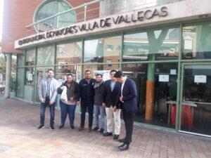 Visita a diferentes espacios municipales, desde la ciudad de San Salvador