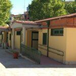 Porches edificio infantil CEIP El Quijote