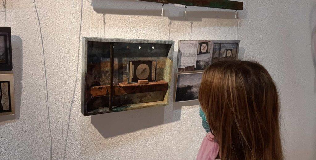 Exposición Cerro Testigo, pájaros