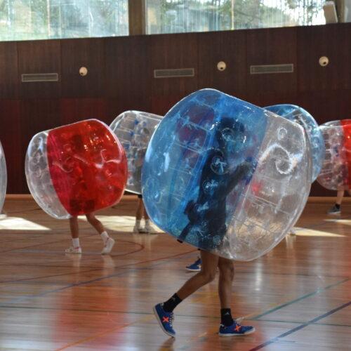 Juegos alternativos en las Jornadas de convivencia (imagen cedida por Juventud Vallecas)