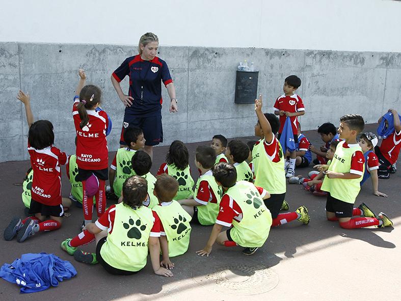 Enseñanza Fútbol en Villa de Vallecas