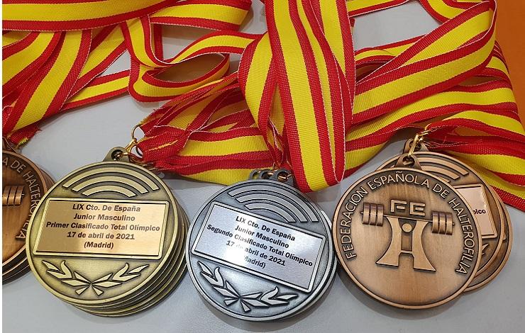 Campeonatos de Halterofilia en el CDM Cerro Almodóvar