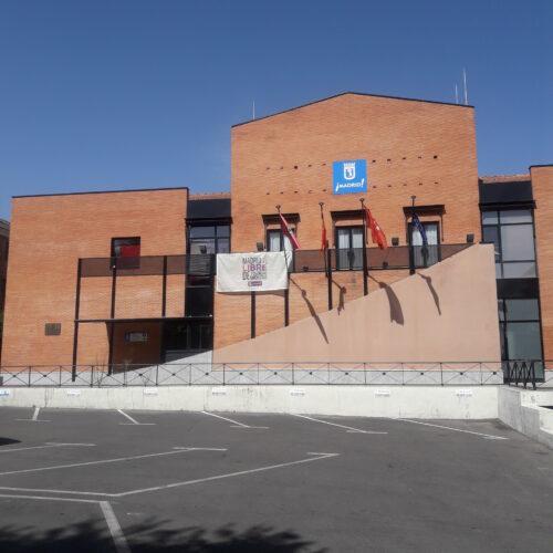 Fachada posterior JMD Villa de Vallecas