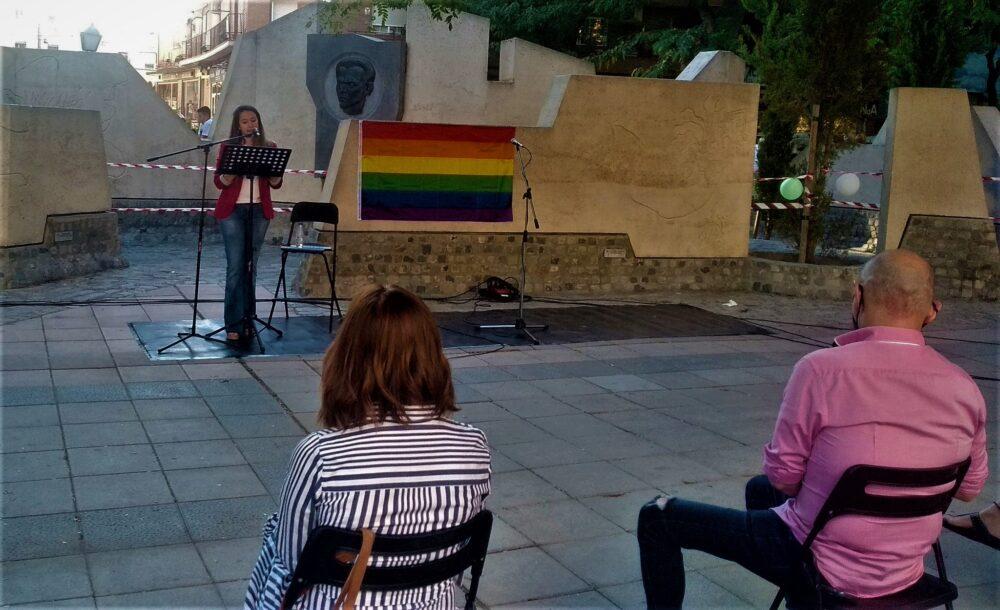 Poesía dramatizada Semana del Orgullo 2021 en Villa de Vallecas
