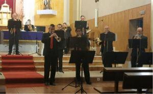 Concierto de la BSM en la parroquia de San Andrés Apóstol