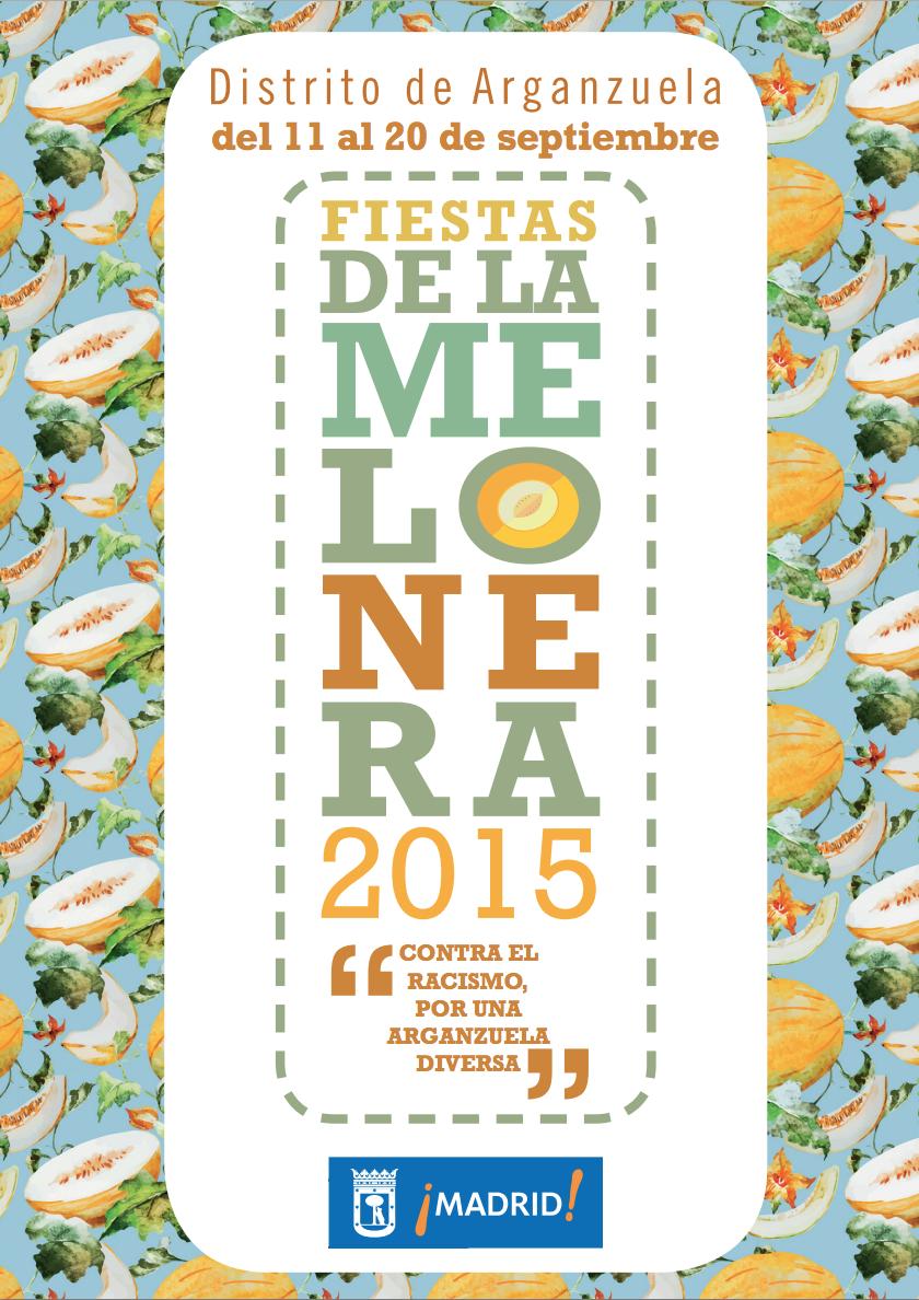 Cartel de las Fiestas de La Melonera 2015