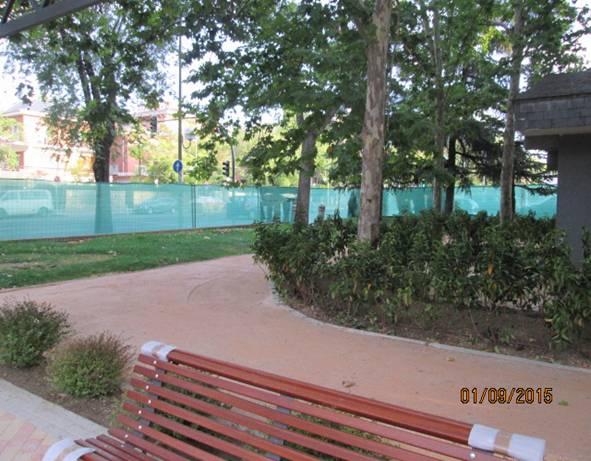 Parques acondicionados en septiembre