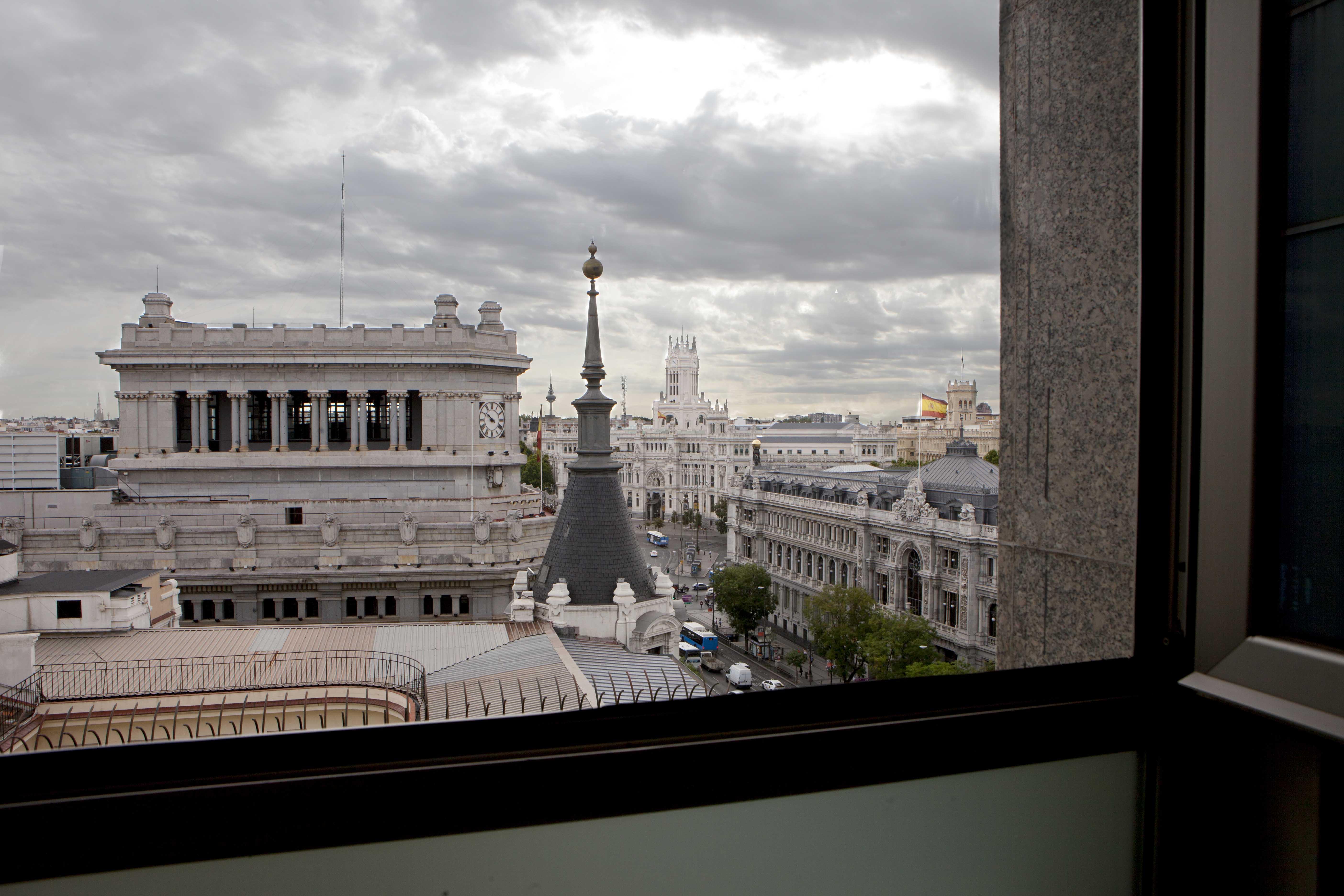 VIsta desde una planta superior del edificio