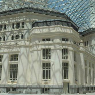 Patio interior del Palacio de Cibeles