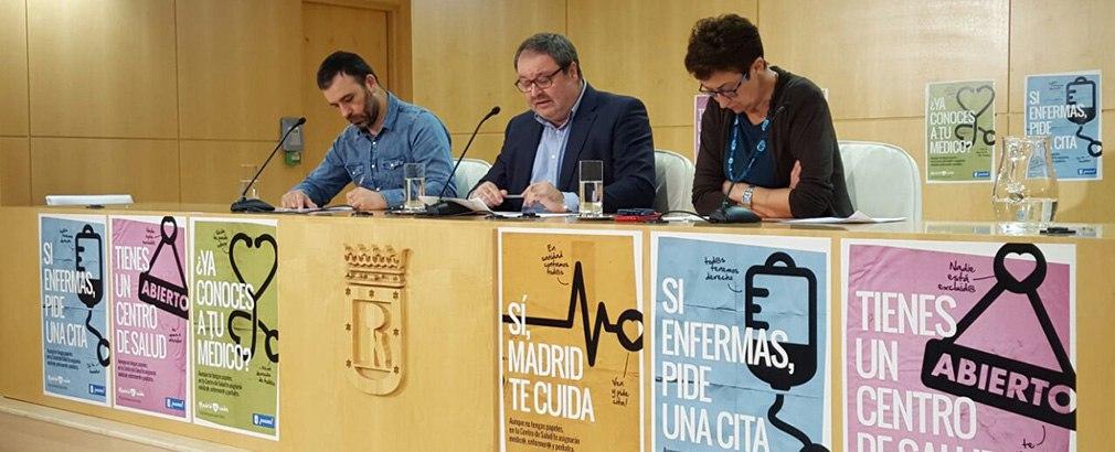 Foto Rueda de Prensa Madrid Sí Cuida
