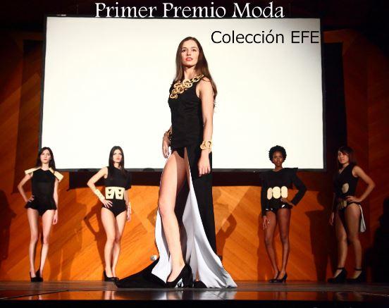 Primer premio en Moda en la pasada edición
