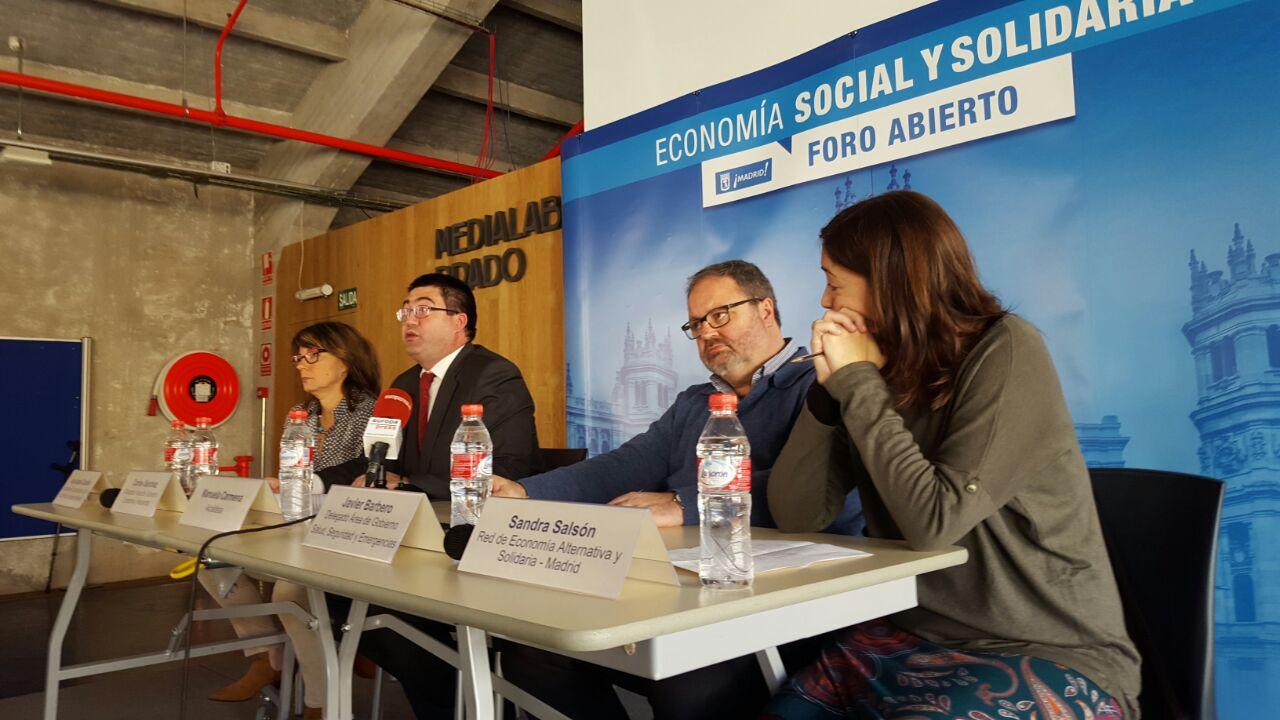 Participantes en el Foro Abierto de Economía Social y Solidaria