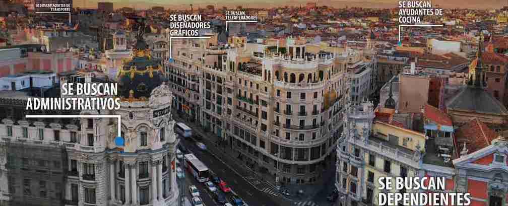 La agencia para el empleo visible en el metro de madrid for Agencia de empleo madrid