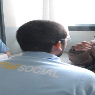 Detalle de una de las intervenciones del Samur Social