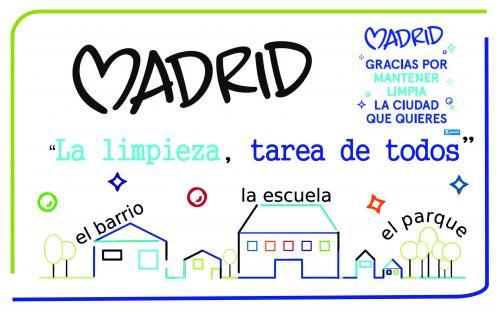 cartel campaña escolar