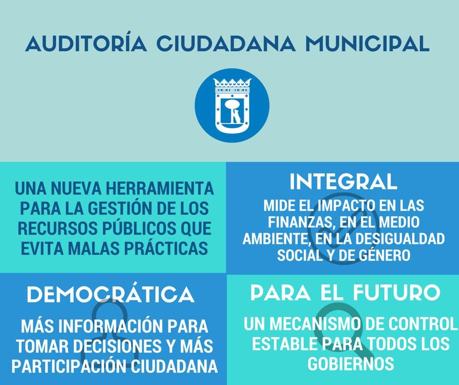 Resumen sobre la Auditoría Ciudadana Municipal