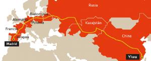 Nueva ruta de la Seda