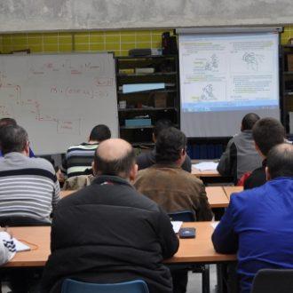 Desempleados madrileños en un curso formativo de la Agencia para el Empleo