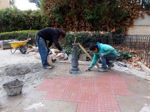 Remodelación de un parque en Chamberí