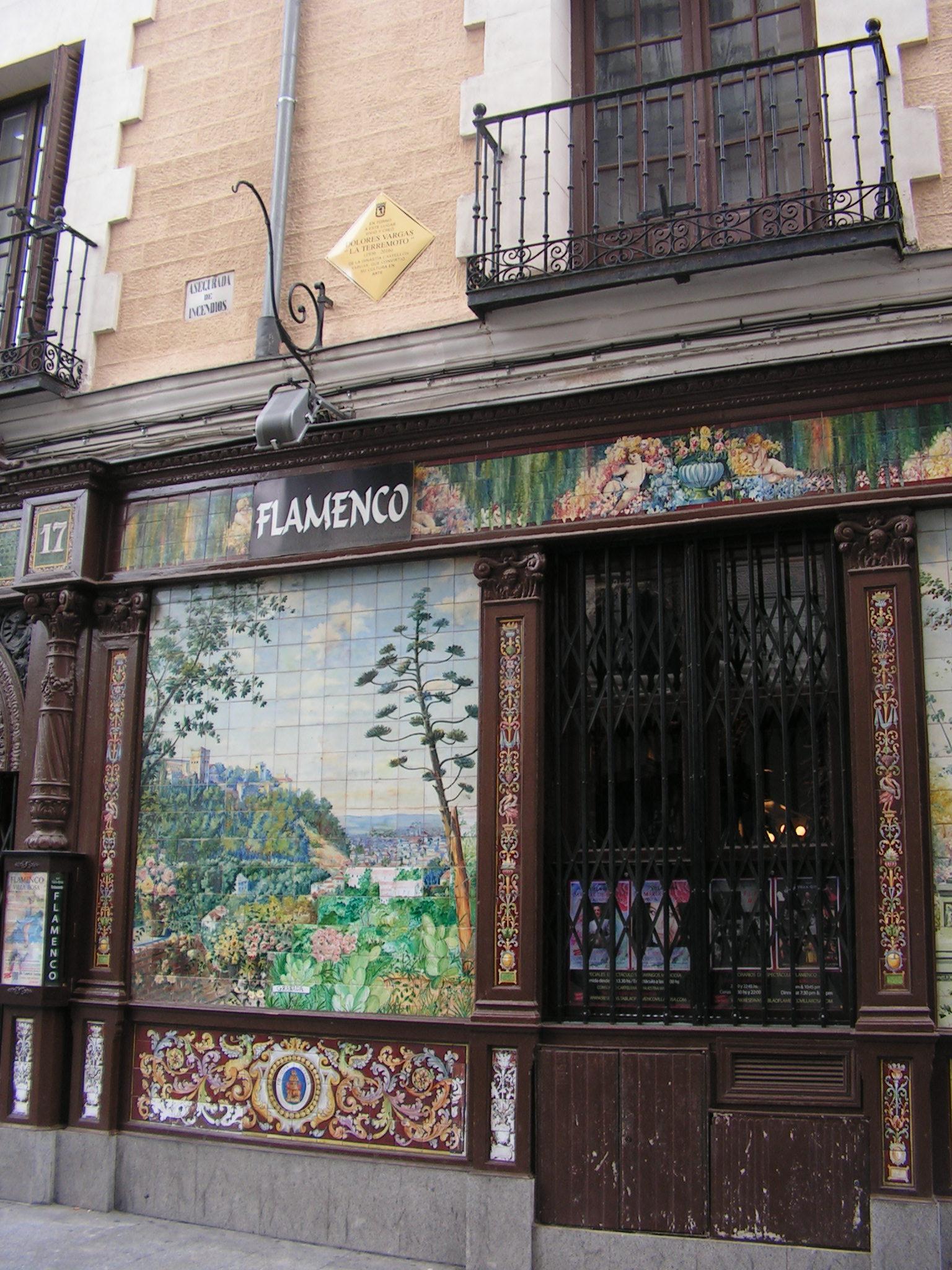 Placa dedicada a Dolores Vargas, La Terremoto