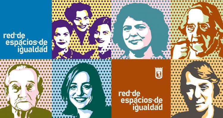 Madrid unifica y moderniza imagen para los 13 Espacios de Igualdad