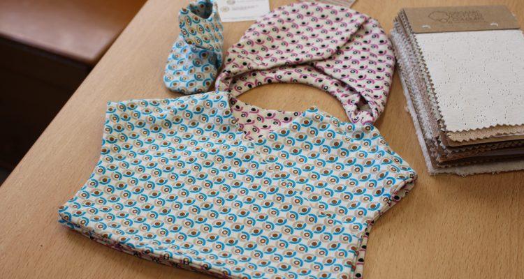 Ejemplo de ropa para bebé de 'Masternura'.