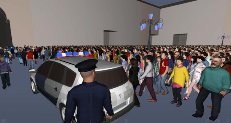 Simulación 3D