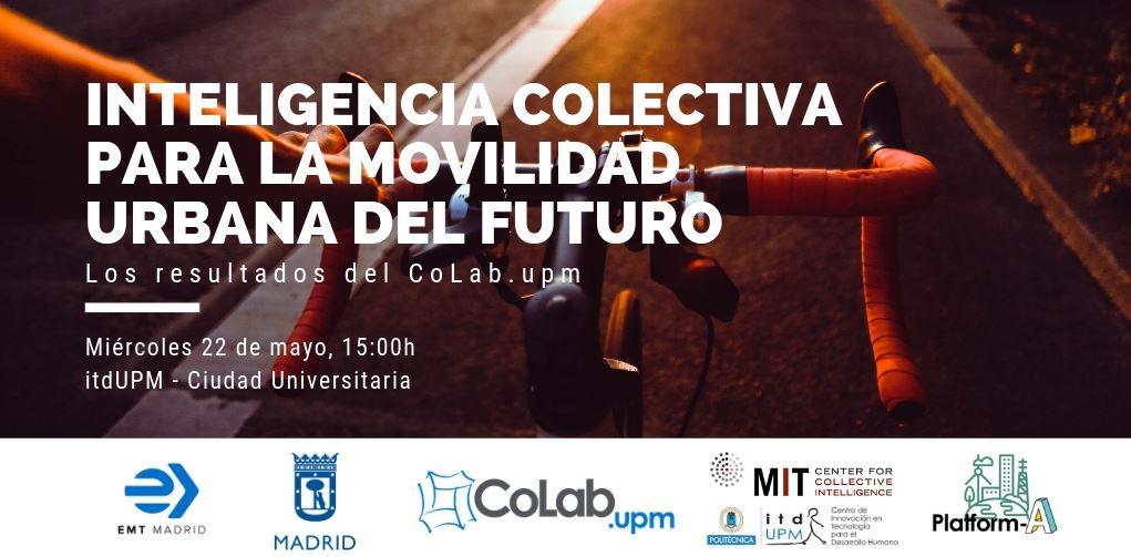 Inteligencia colectiva para la movilidad urbana del futuro: los resultado del CoLab.UPM
