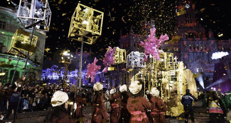 Cabalgata de Reyes 2019. Madrid.