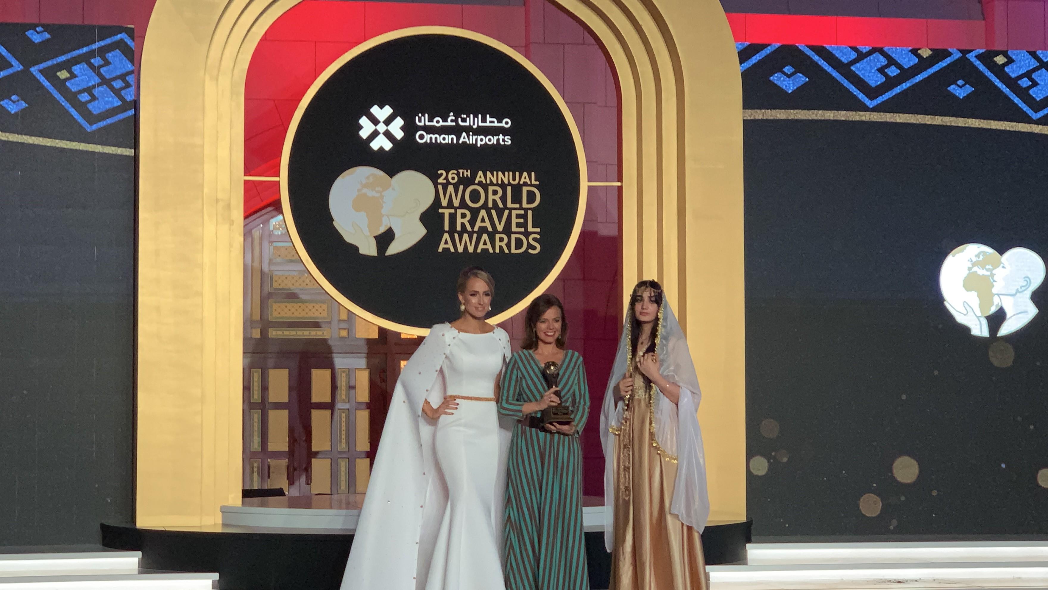 Maíllo en la 26ª edición de los premios World Travel Awards 2019 (WTA)