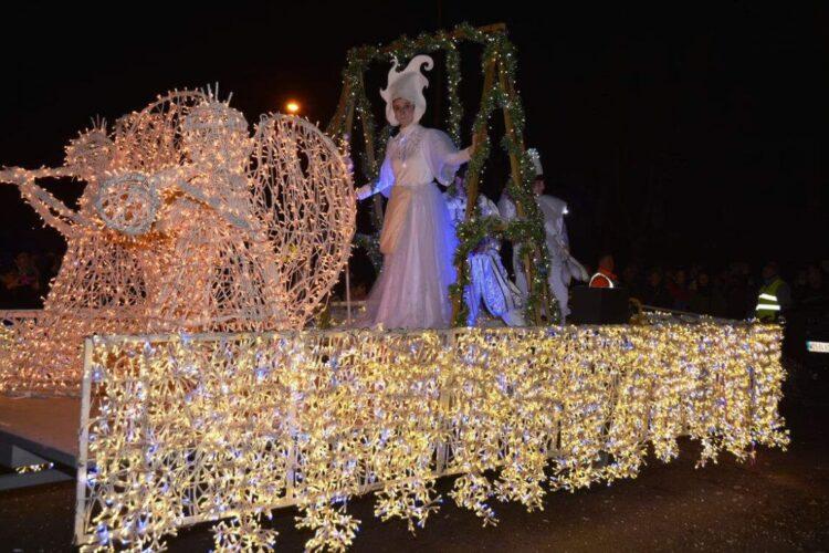 Imágen de la cabalgata de Reyes de 2018