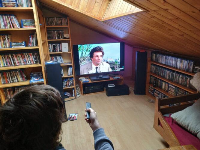 Disfrutando del cine en casa