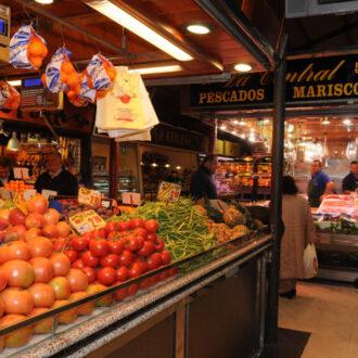 Frutas y verduras de los mercados madrileños