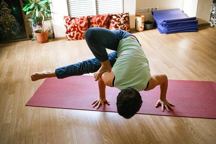 Yoga en tu salón
