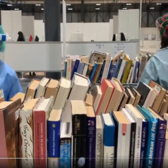 Biblioteca solidaria de IFEMA