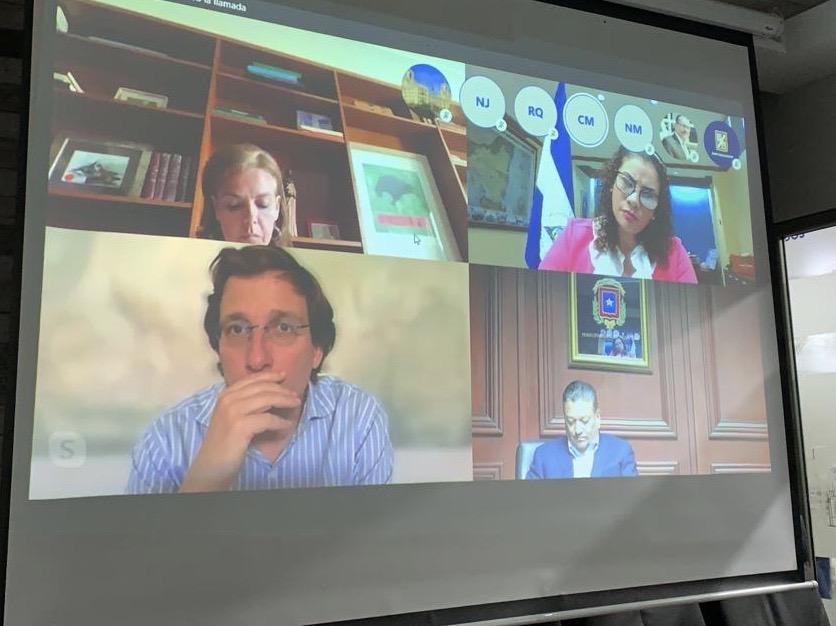 Almeida analiza con alcaldes de Centroamérica y el Caribe la ...