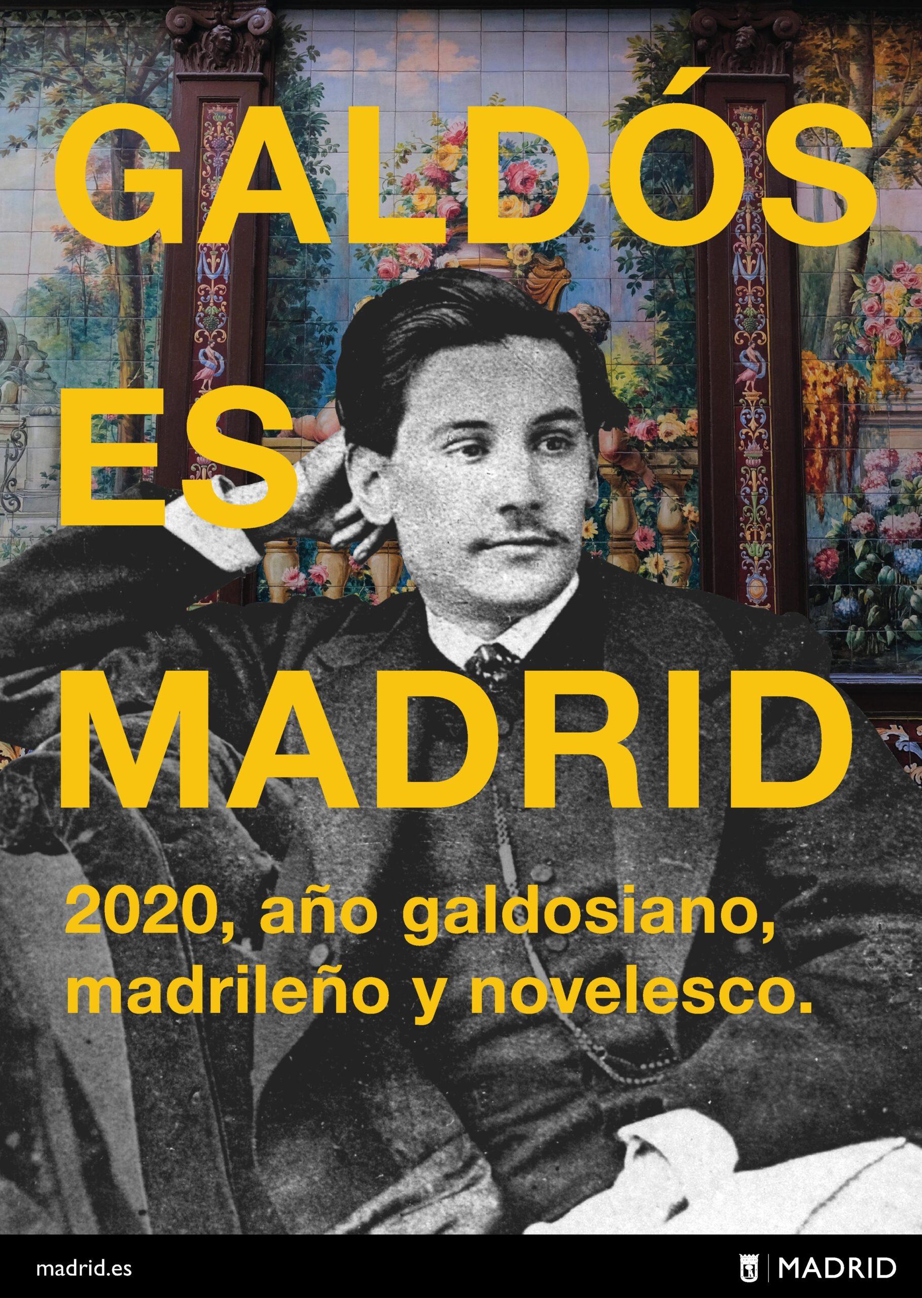 Cartel del programa 'Galdós es Madrid'