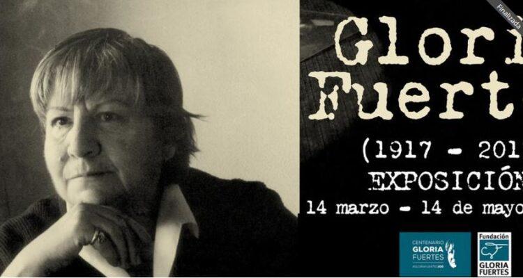 Exposición de Gloria Fuertes