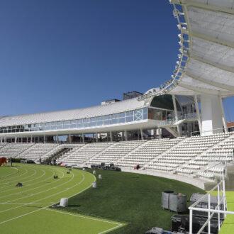 Estadio Vallehermoso, el primero en abrir el próximo lunes