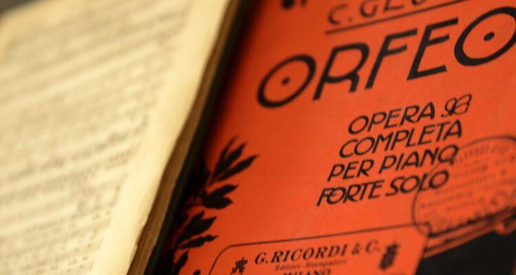 Partitura Orfeo, Gluck