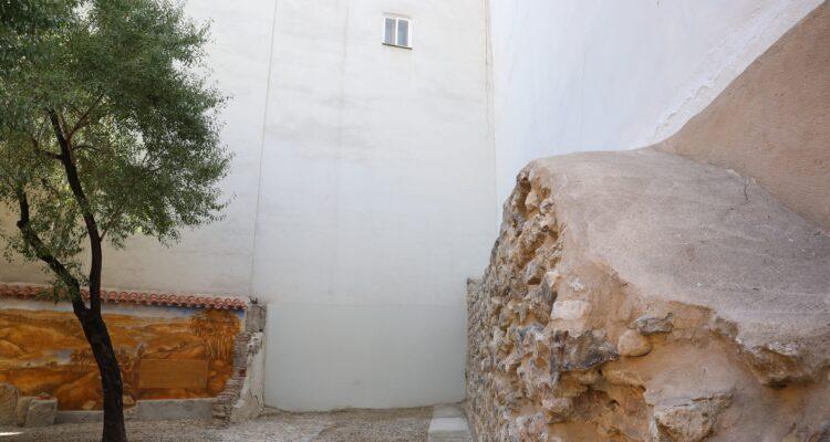 Detalle de la antigua muralla