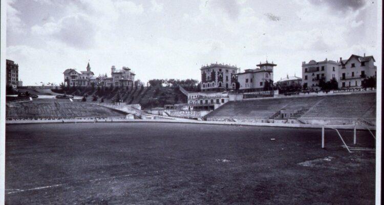 Estadio y parque Metropolitano. Autor Jesús García Férriz. 1929