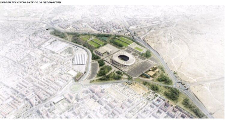 Recreación-del-proyecto-en-el-entorno-del-Wanda-Metropolitano.-Imagen-no-vinculante-con-el-proyecto-definitivo
