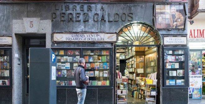 Librería Pérez Galdós, en Chamberí