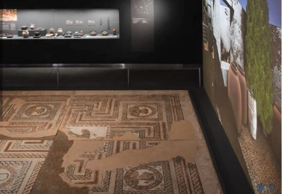 Mosaico en el Museo de San Isidro