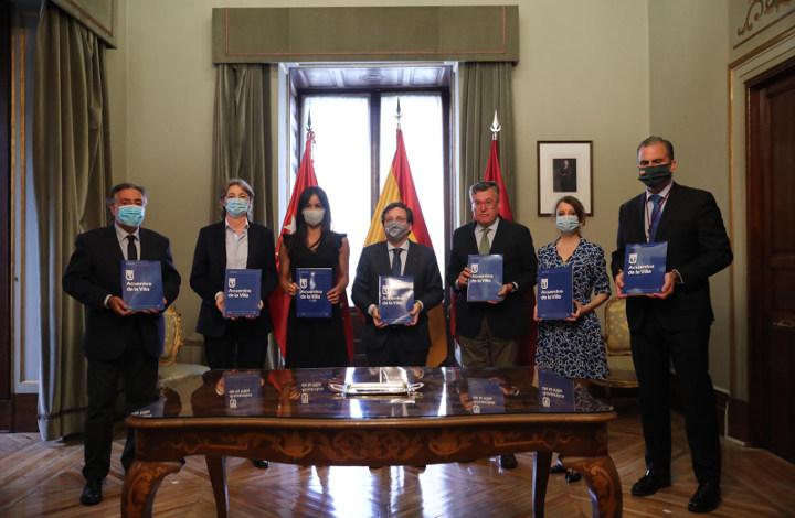 Acuerdo unánime de todas las fuerzas políticas municipales