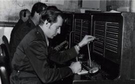 Primeros operadores del 092